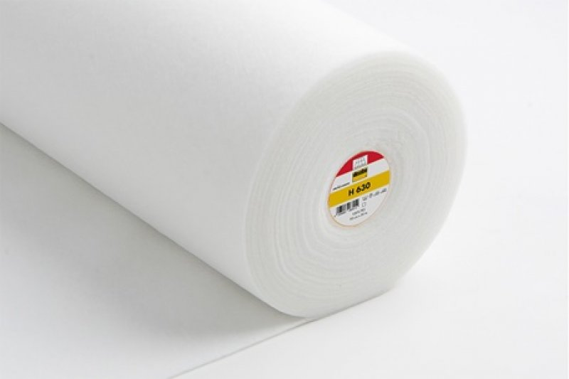 H 630 Vlieseline weiß - aufbügelbar - 90cm breit