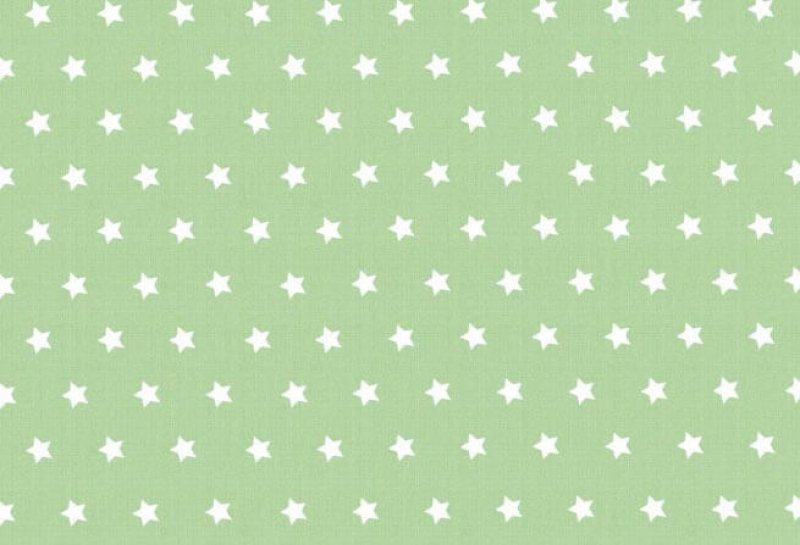 Westfalenstoffe Capri Sterne grün-weiß