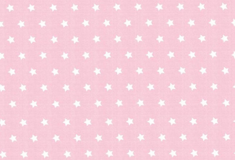 Westfalenstoffe Capri Sterne rosa-weiß