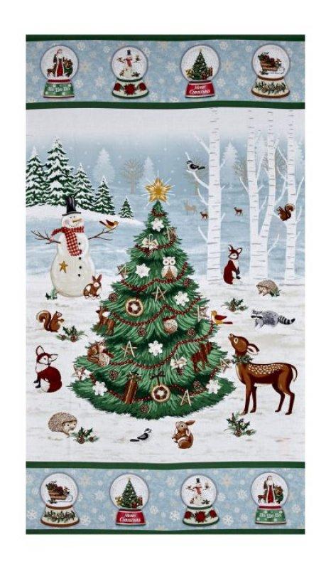 A Time of Wonder - Panel Weihnachtsbaum