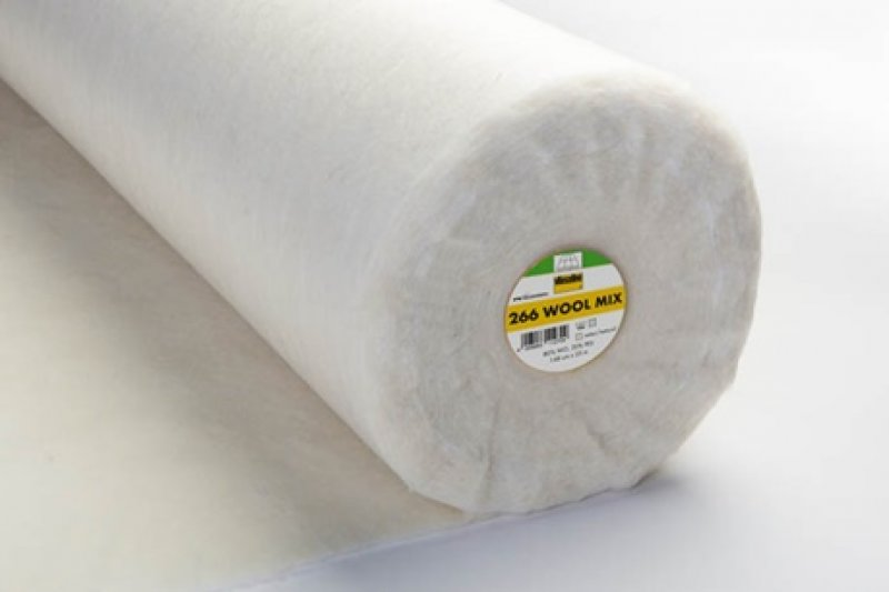 266 Wool Mix - Volumenvlies - 148 cm breit