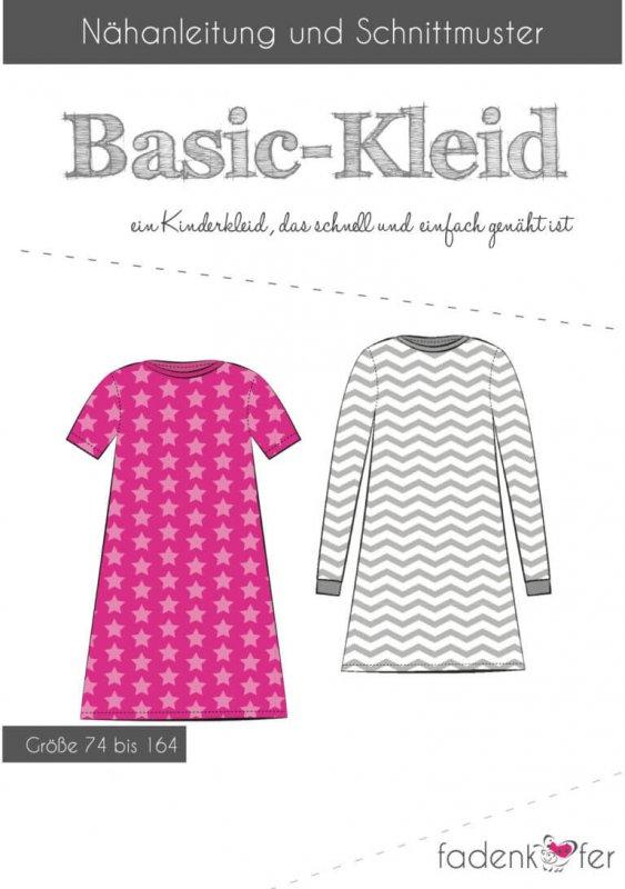 Fadenkäfer Schnittmuster - Basic-Kleid Kinder