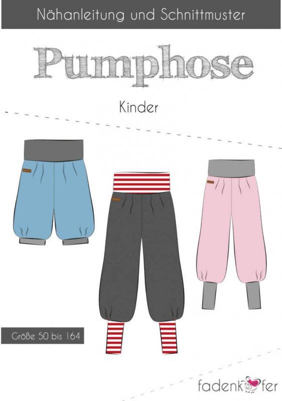 Fadenkäfer Schnittmuster - Pumphose Kinder