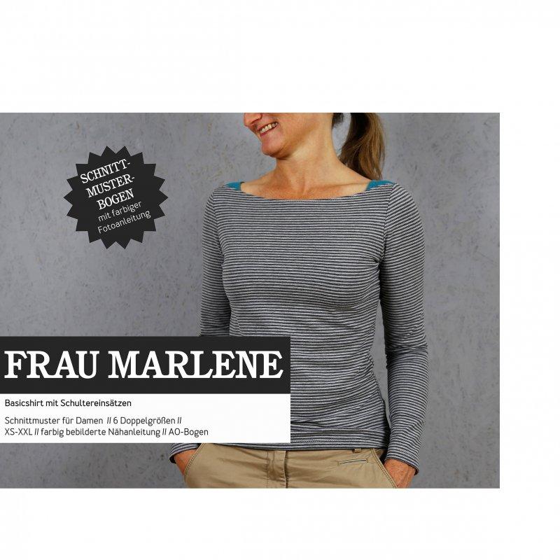 Studio Schnittreif Schnittmuster - Frau Marlene Shirt
