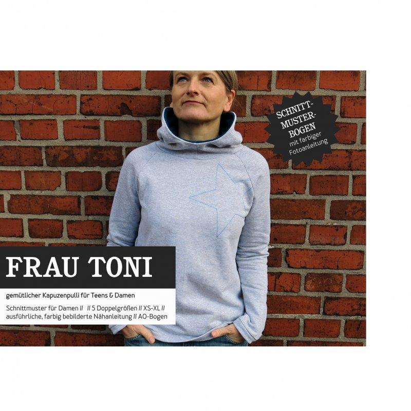 Studio Schnittreif Schnittmuster - Frau Toni Hoodie