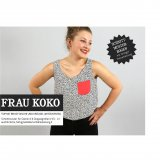 Studio Schnittreif Schnittmuster - Frau Koko Sommertop