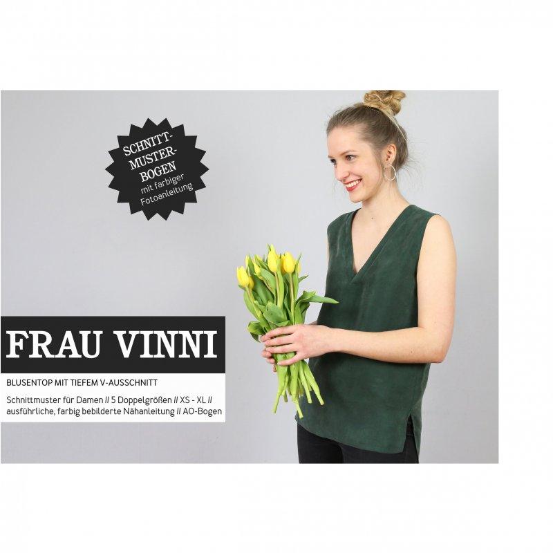 Studio Schnittreif Schnittmuster - Frau Vinni Blusentop