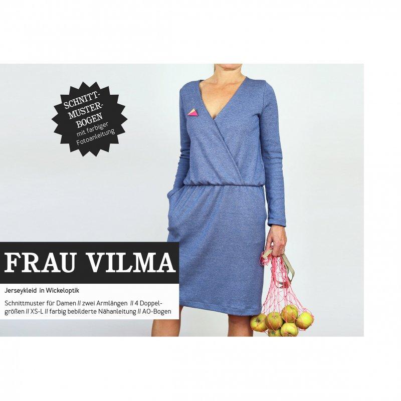 Studio Schnittreif Schnittmuster - Frau Vilma Jerseykleid