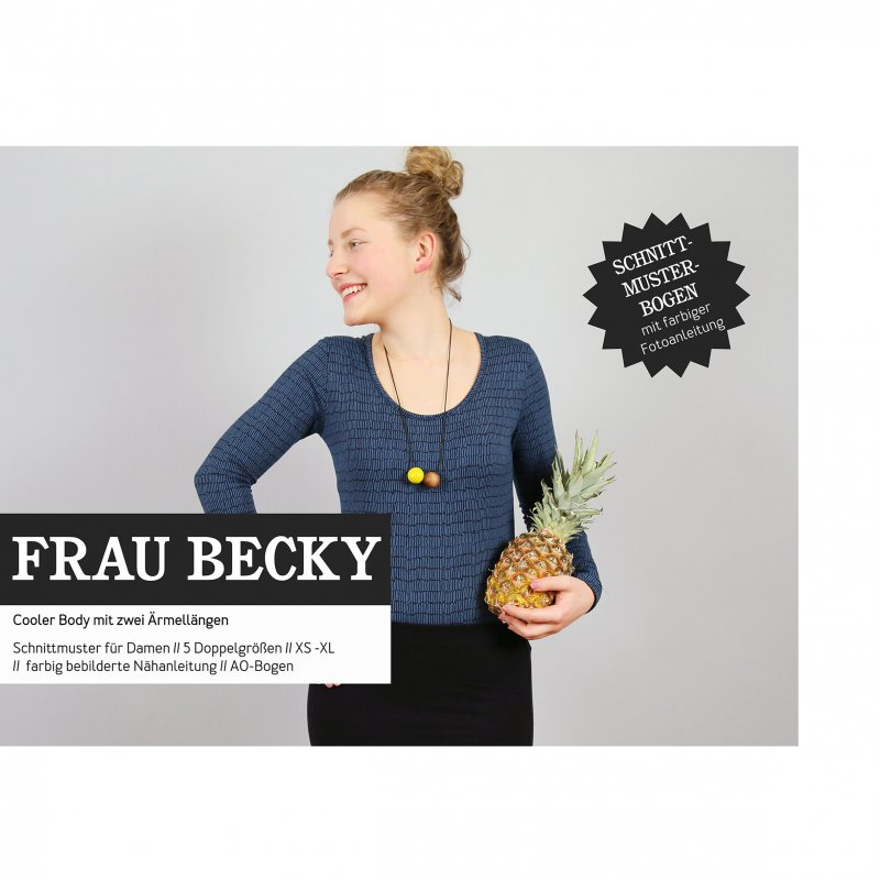 Studio Schnittreif Schnittmuster - Frau Becky Body