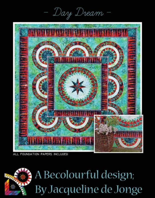 SALE - Day Dream - BeColurful / Anleitung Paper Piecing