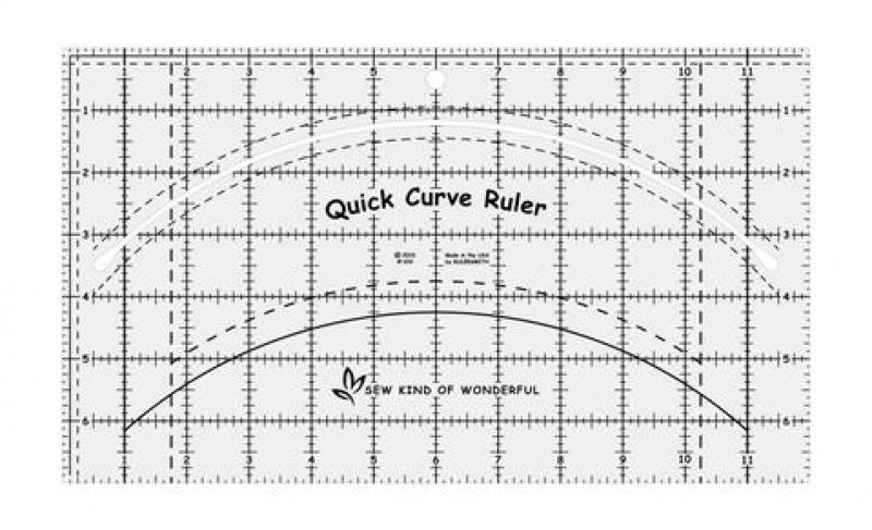 SALE - Quick Curve Ruler - Sew Kind of Wonderful