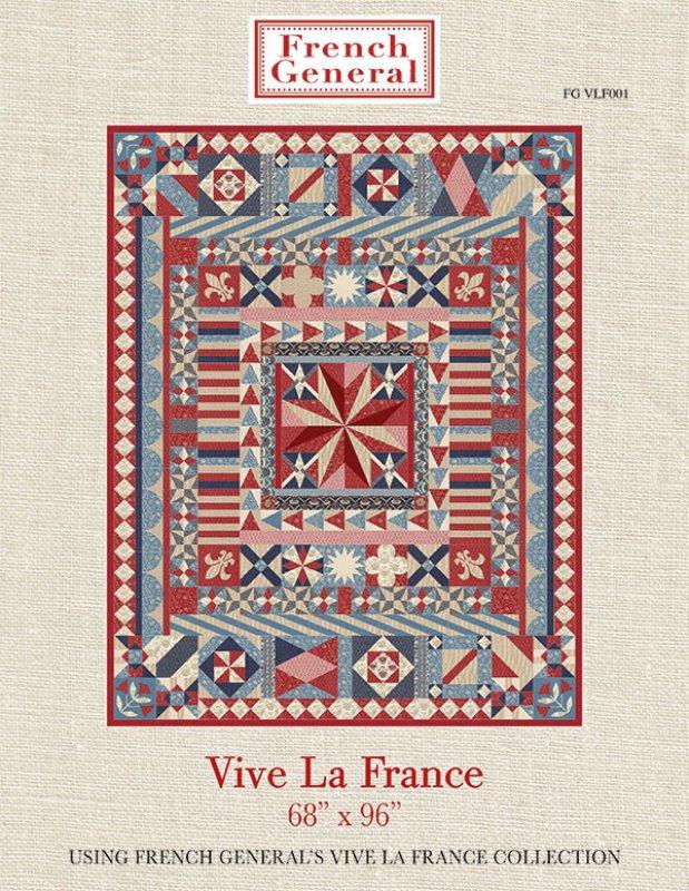 """Anleitung Quilt """" Vive La France"""" - Frech General"""
