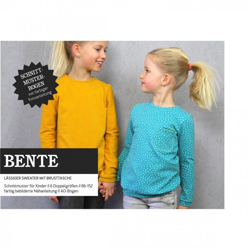 Studio Schnittreif Schnittmuster - Bente Sweater mit Brusttasche