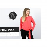 Studio Schnittreif Schnittmuster - Frau Pina entspannte Knotenbluse